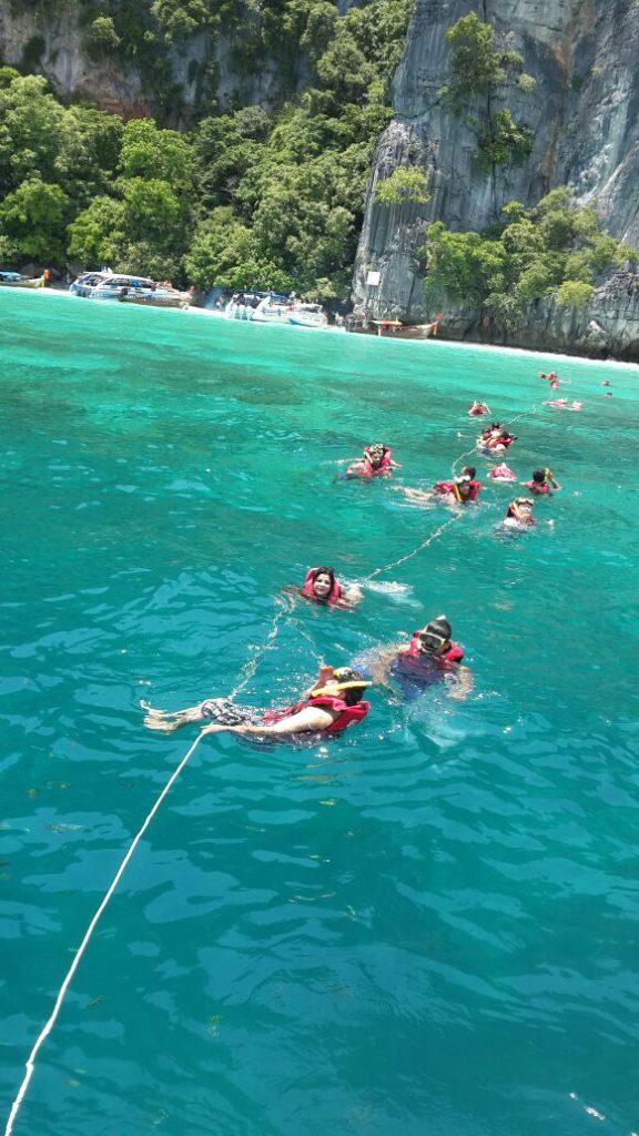 Snorkelling at Phi Phi Island