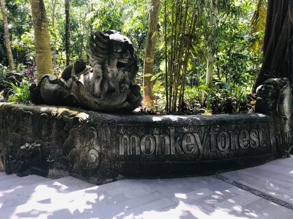 Monkey Forest Entrance - Ubud - Bali