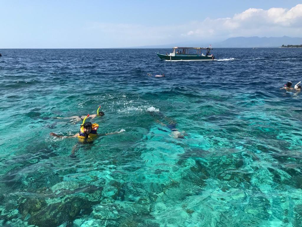 Snorkelling at Gili Islands