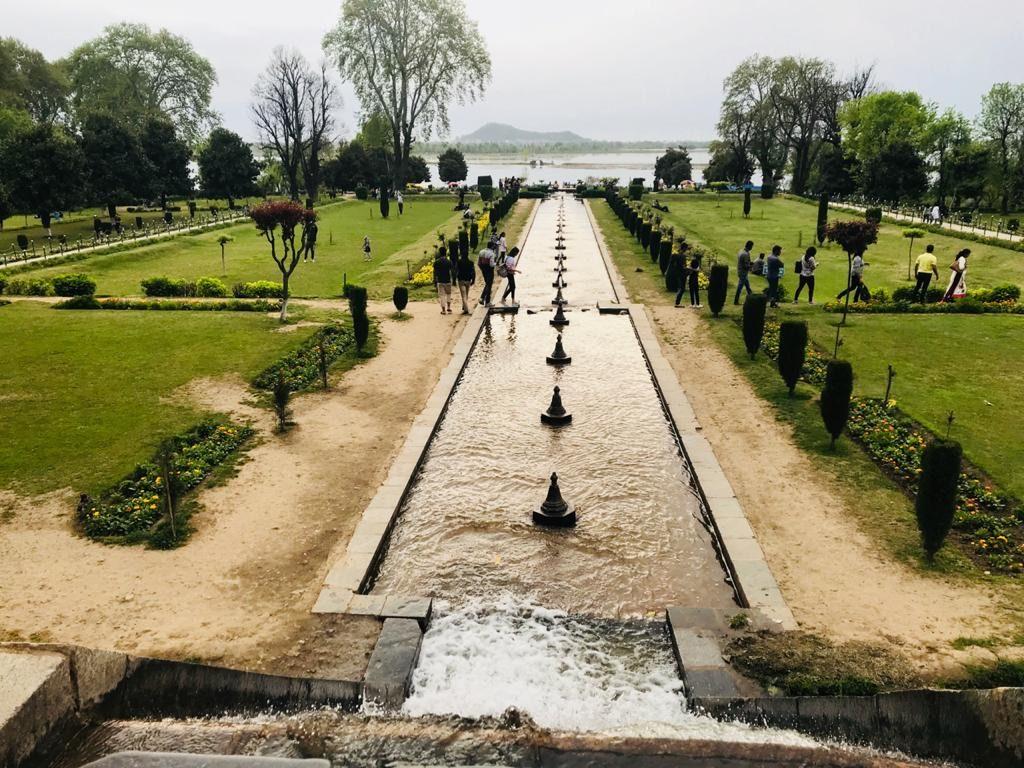 Kashmir 3 Days Itinerary, Nishat Garden