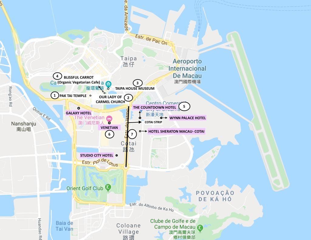 Day 2 Plan - Macau