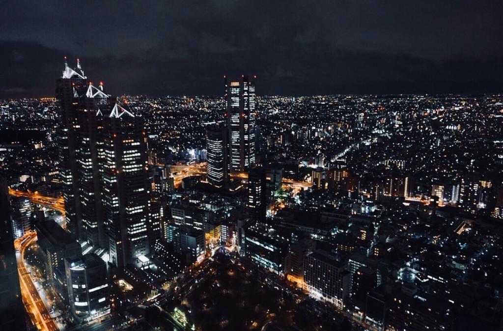 View from Tokyo Metropolitan Government Building at Shinjuku - Tokyo, Japan