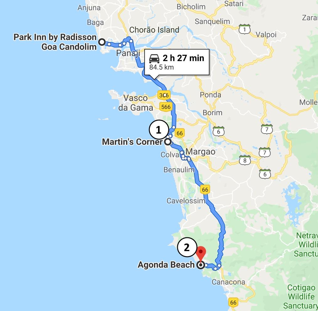 Goa 5 Days Itinerary