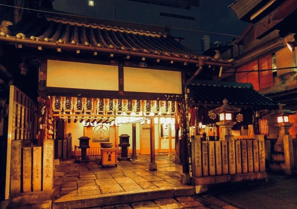 Hozenji Temple Osaka