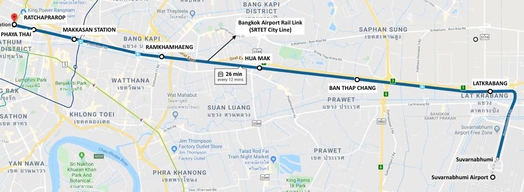 Bangkok Airport Rail Link (SRTET City Line)