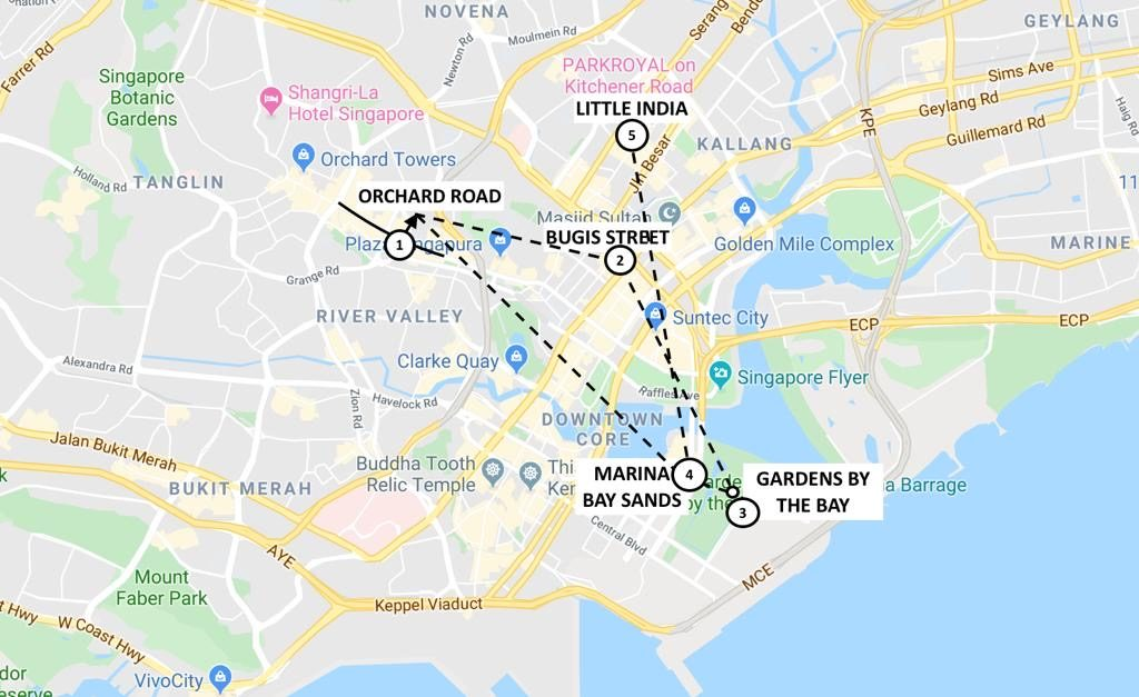The Perfect 4 days itinerary for Amazing Singapore