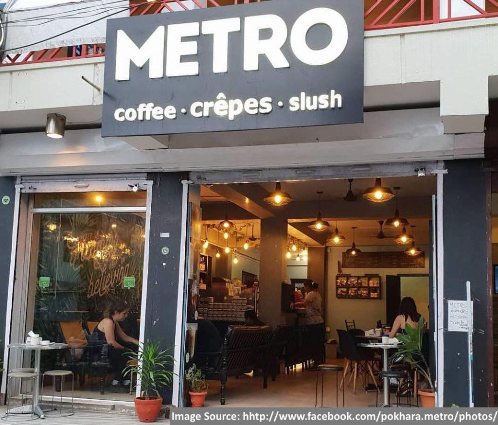 Metro Coffee Crépe and Slush - Pokhara