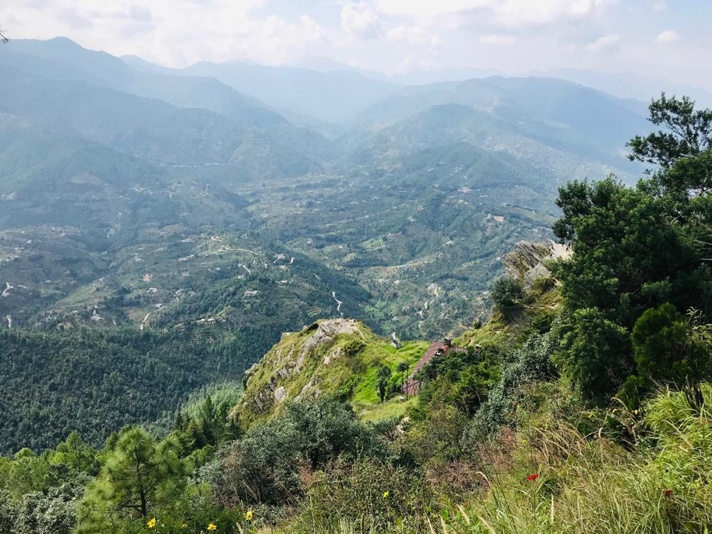 View from Mukteshwar Temple