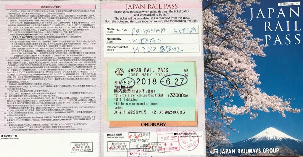 First timers guide to JR Pass