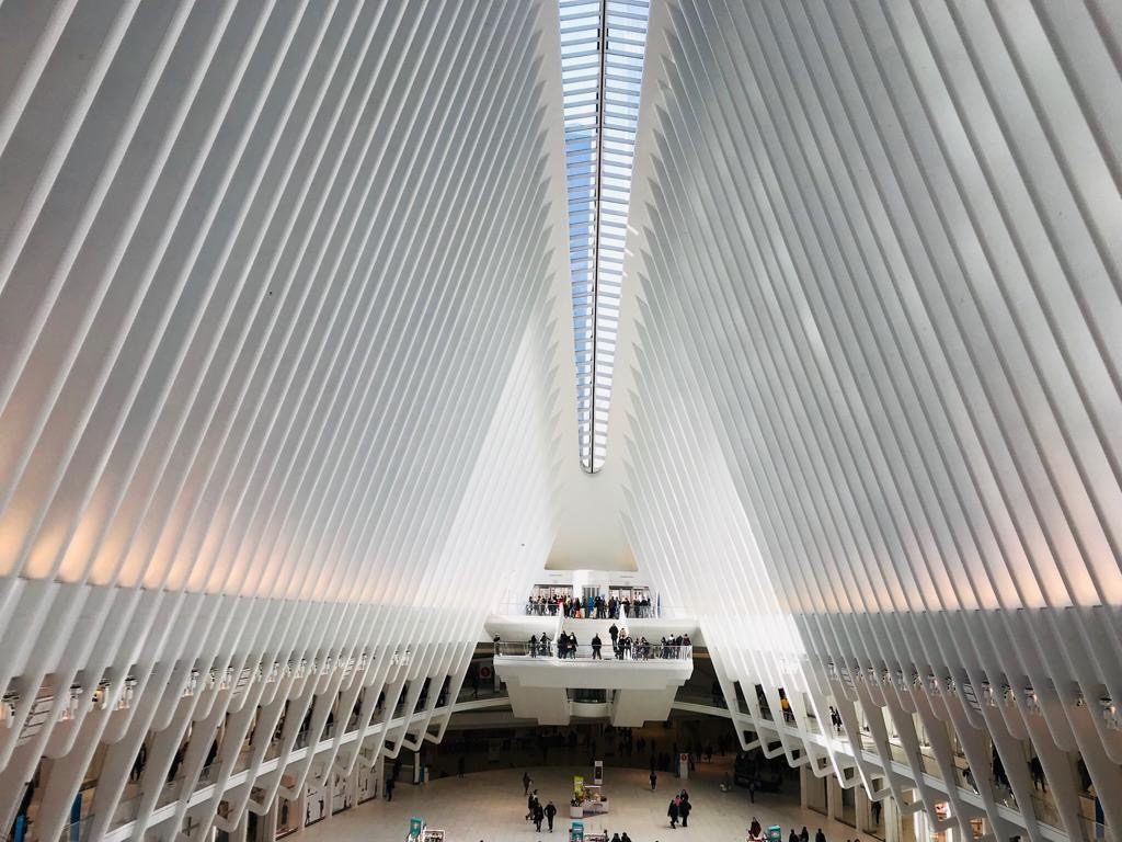 Oculus from Inside - New York City