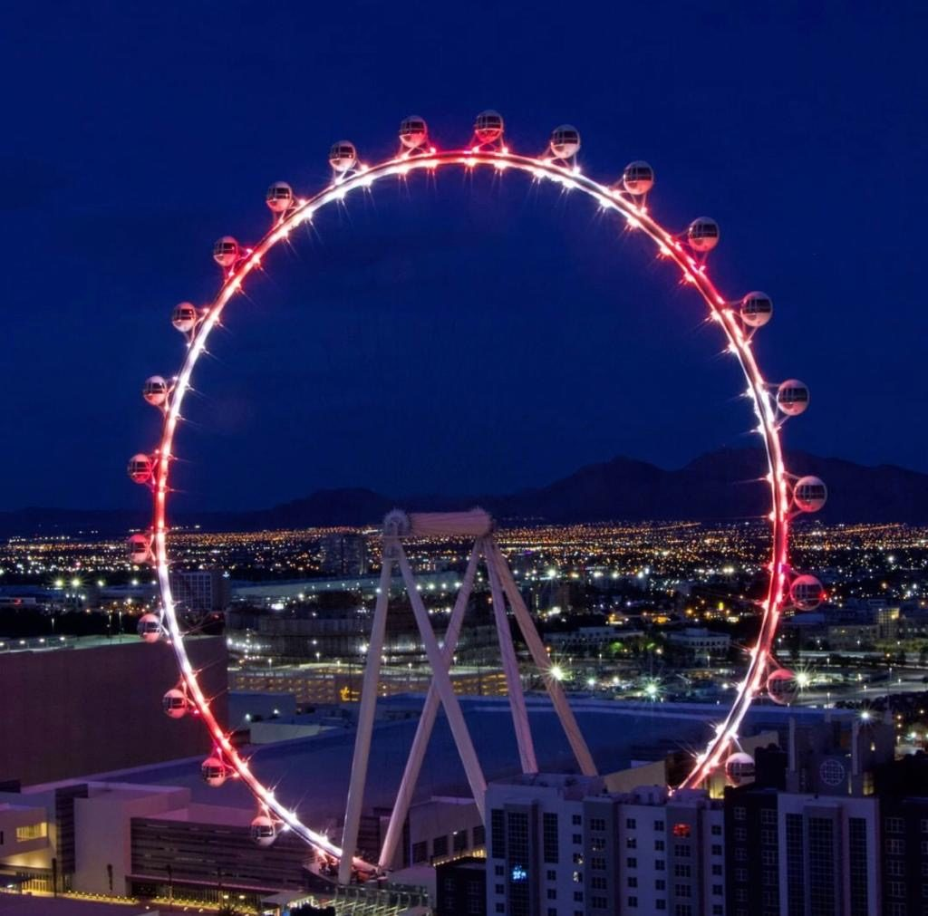 Ferris Wheel at Line Hotel