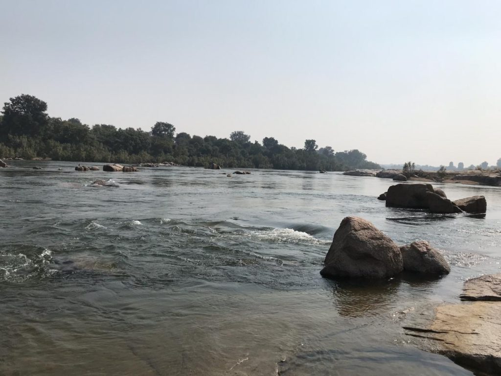 Betwa River - Orchha