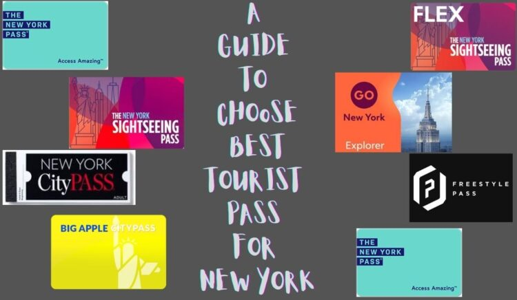 Different Types of Tourist Passes for New York City