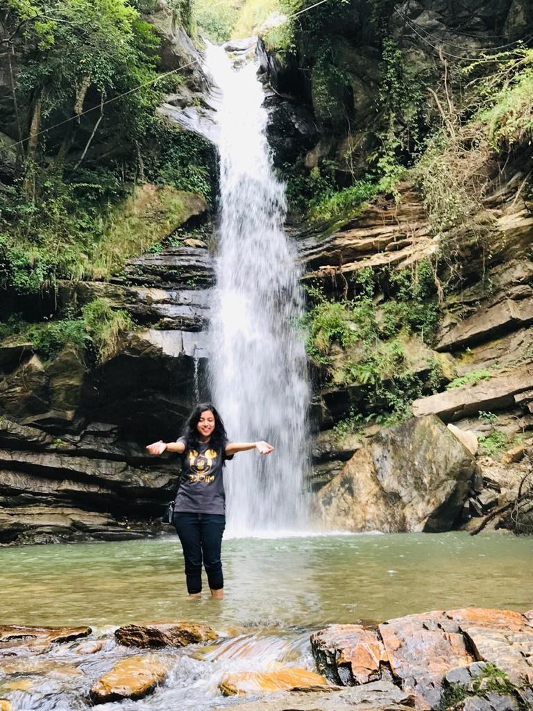 Bhalughaad Waterfall