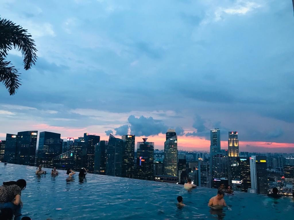 Infinity Pool - Marina Bay Sands