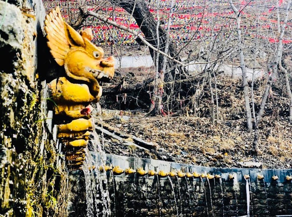 108 Water Spring at Muktinath Temple - Nepal