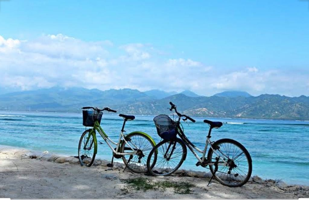 Cyling at Gili Islands