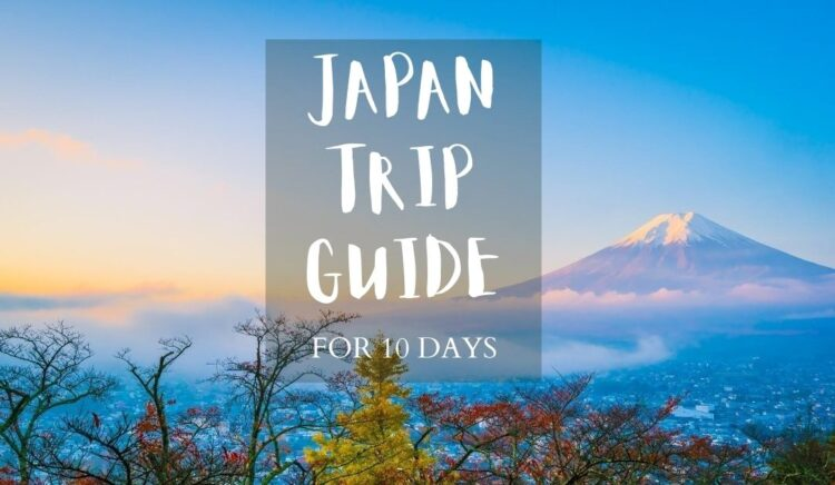 A Guide to 10 Days in Japan