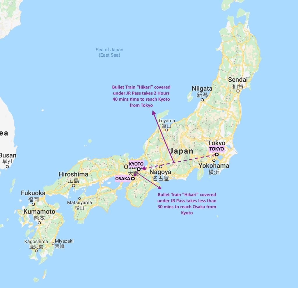 10 Days in Japan Suggested Itinerary