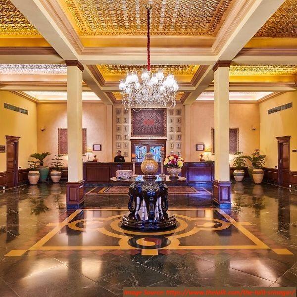 Lobby at Lalit Grand Palace Hotel