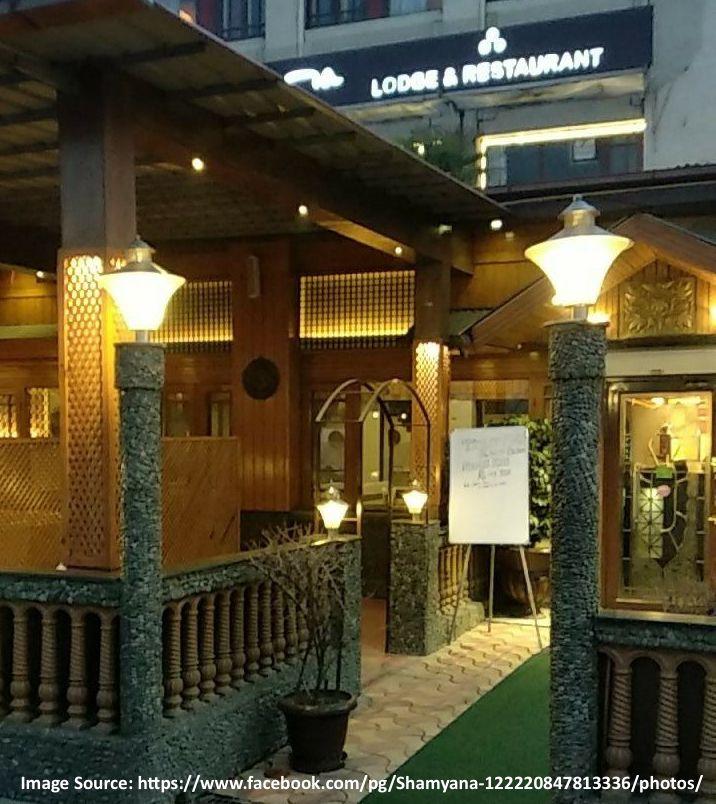 Shamyana Restaurant Srinagar