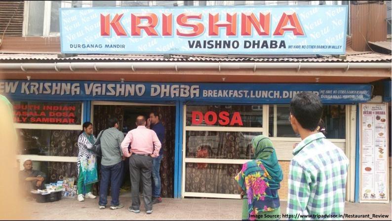 Krishna Dhaba Srinagar