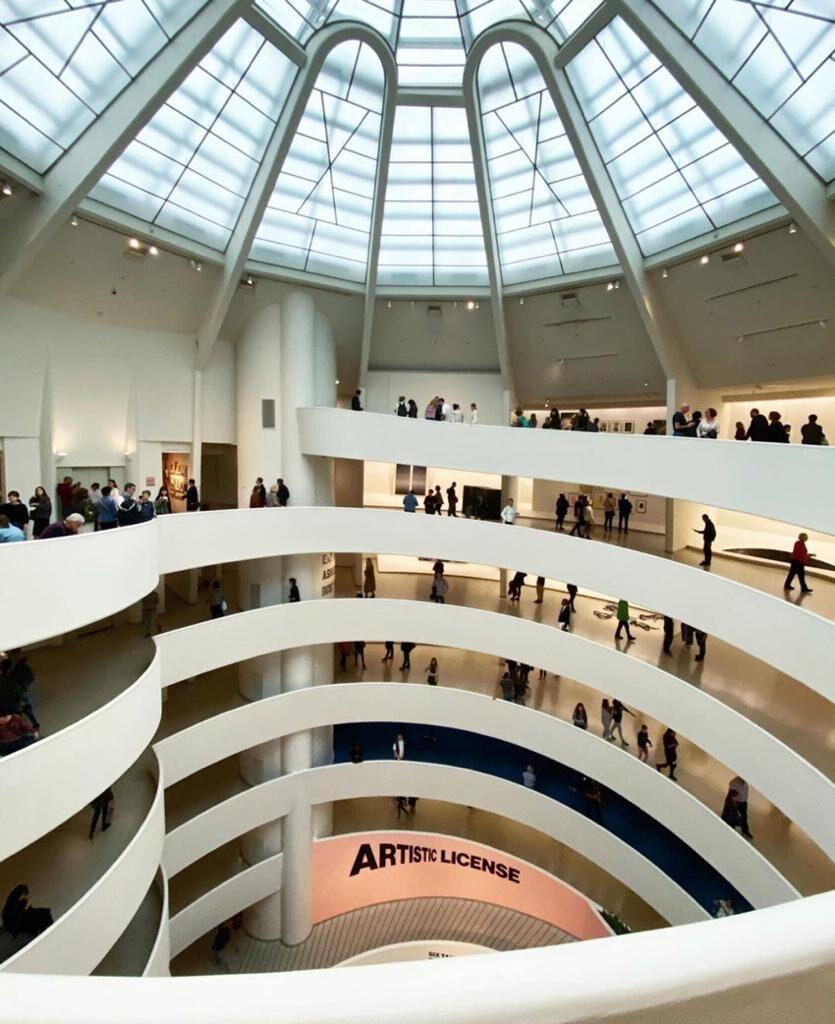 Solomon R.Guggenheim Museum ; 10 must visit museum in Manhattan
