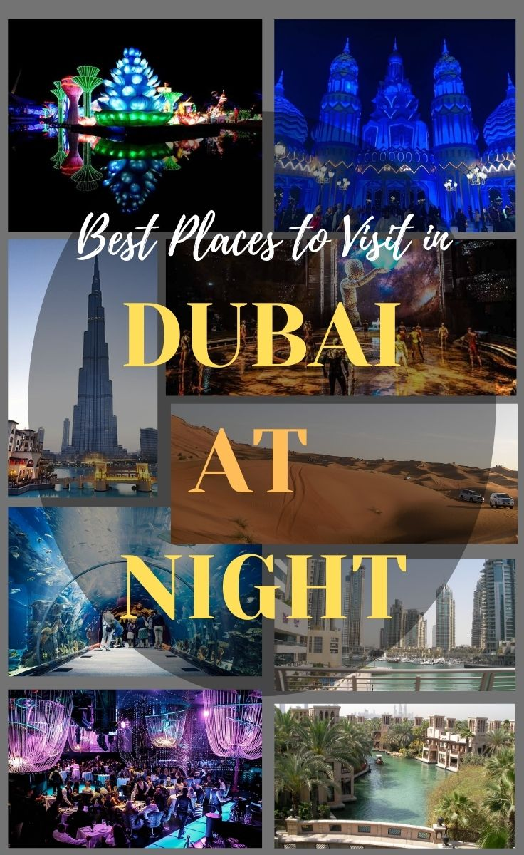 10 Best Places to Visit in Dubai at Night