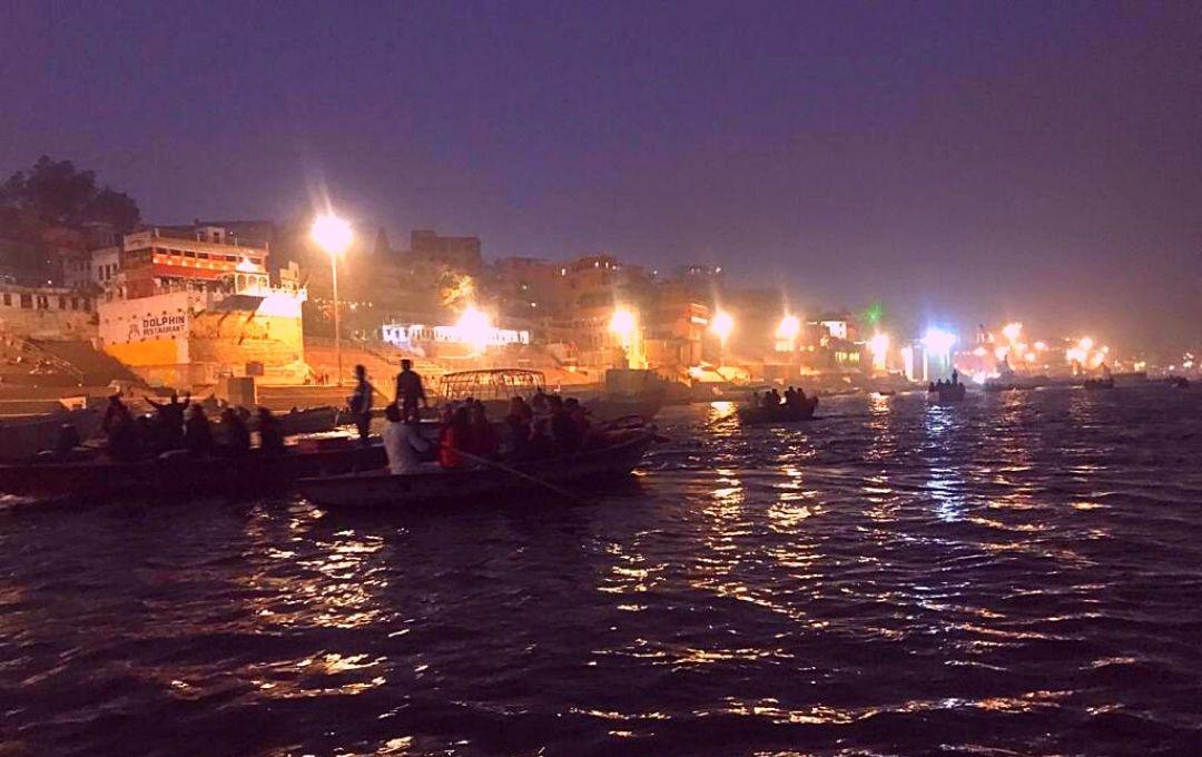 View of Varanasi Ghats
