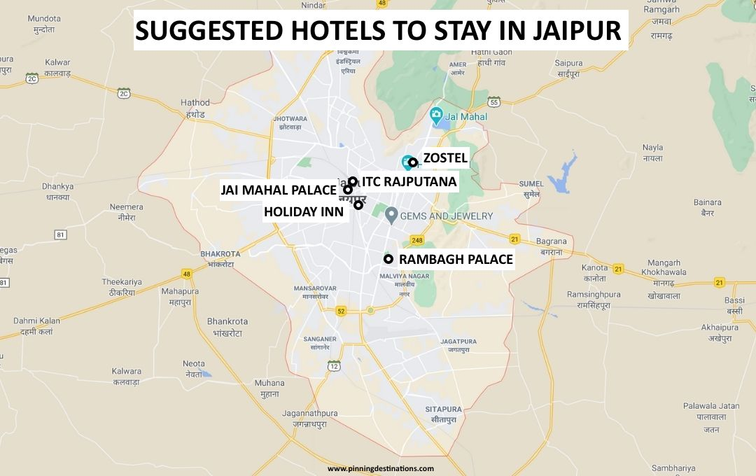 Best Hotels to Stay in Jaipur - Jaipur Travel Guide