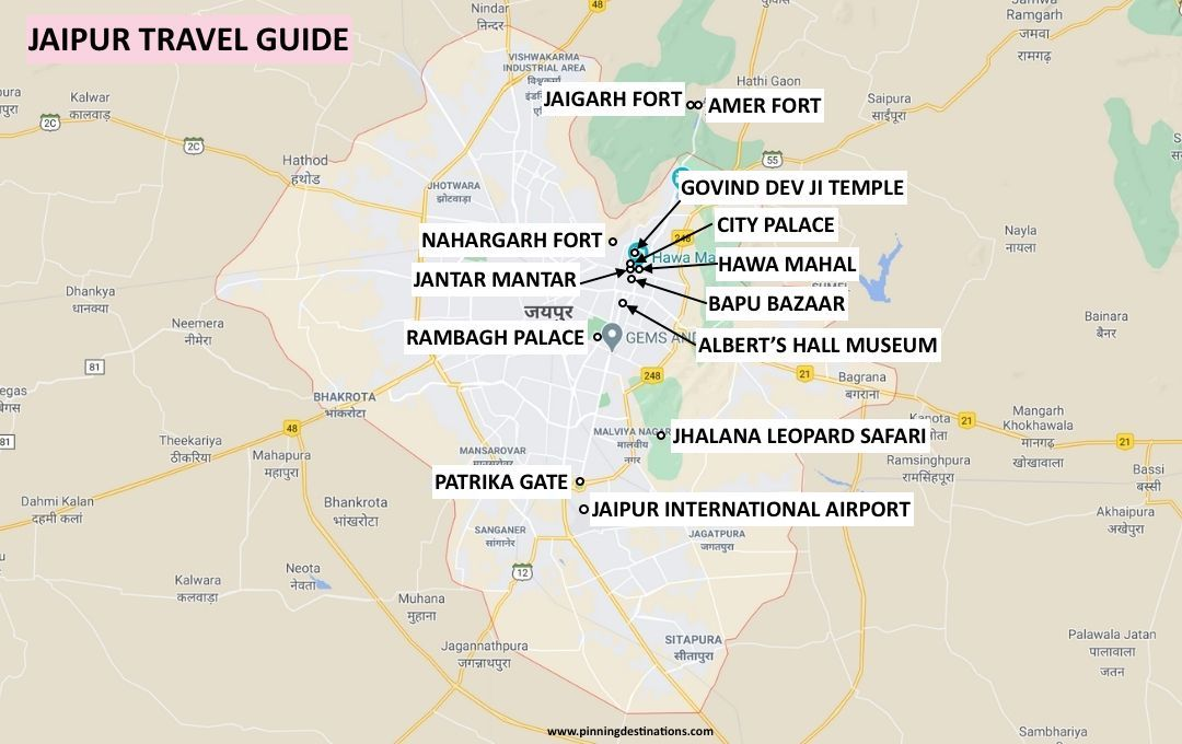 Places to visit in Jaipur - Jaipur Itinerary for 2 Days